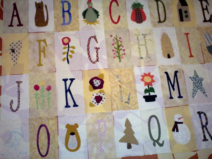 Proyecto cuna abecedario infantil