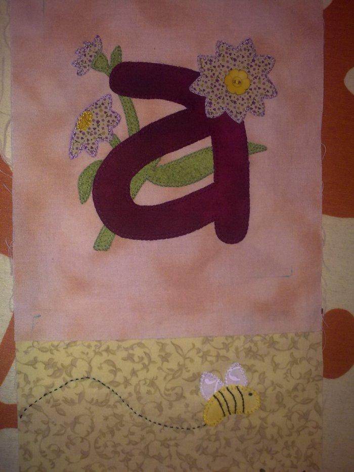 Objetivo 1º Sal Alphabet Garden