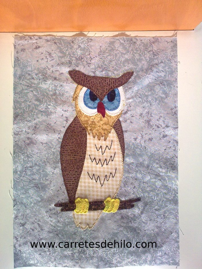 Sal owl to quilt
