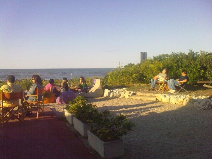 Terraza playa Denia