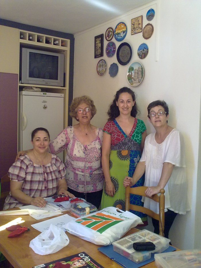 Chicas patchwork